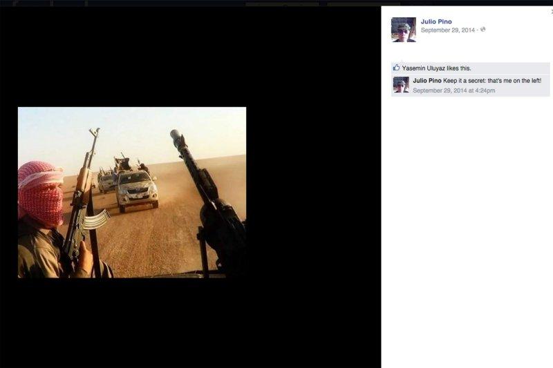 استاد دانشگاهی که تصاویر داعش را منتشر کرد و شعار مرگ بر اسرائیل داد!