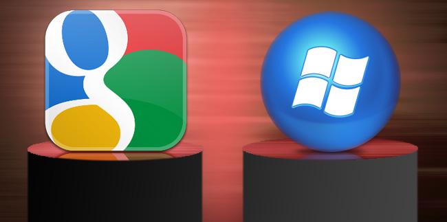 زمانی برای دوستی گوگل و مایکروسافت