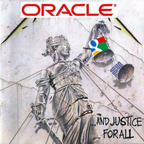 اوراکل پته گوگل را در دادگاه به روی آب ریخت!
