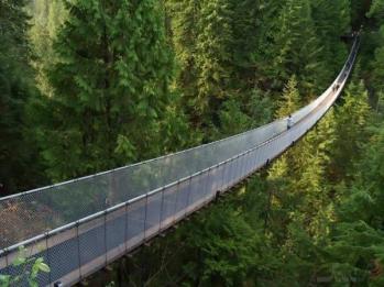 ترسناک ترین پل معلق دنیا