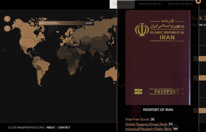 ترفند و ابزار: گذرنامه ایران نسبت به سایر کشورها از چه قدرتی برخوردار است؟