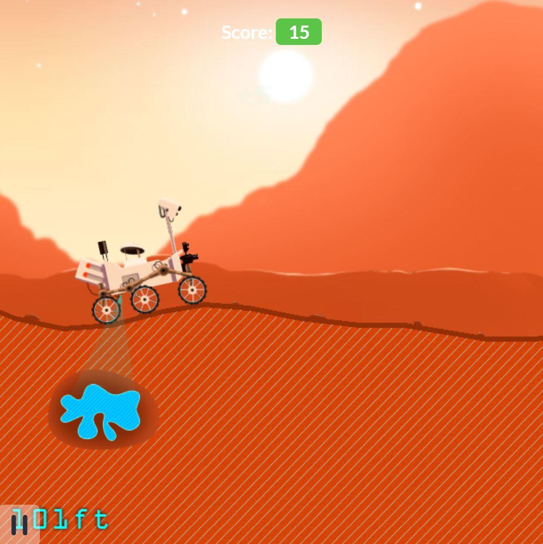 بازی جدید ناسا به شما اجازه هدایت کاوشگر Curiosity را بر روی مریخ میدهد
