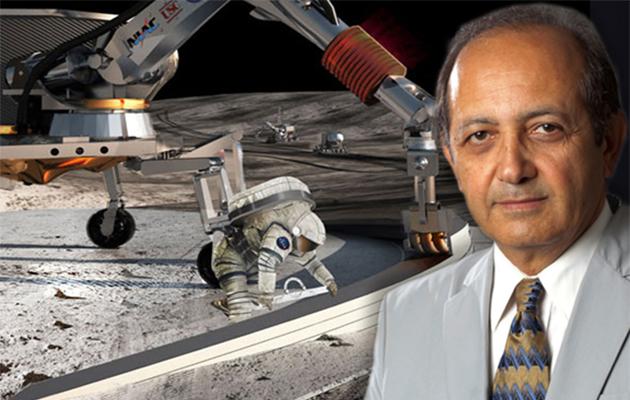 همکاری یک «بهرخ خوشنویس» با ناسا برای چاپ سه بعدی خانه بر روی ماه