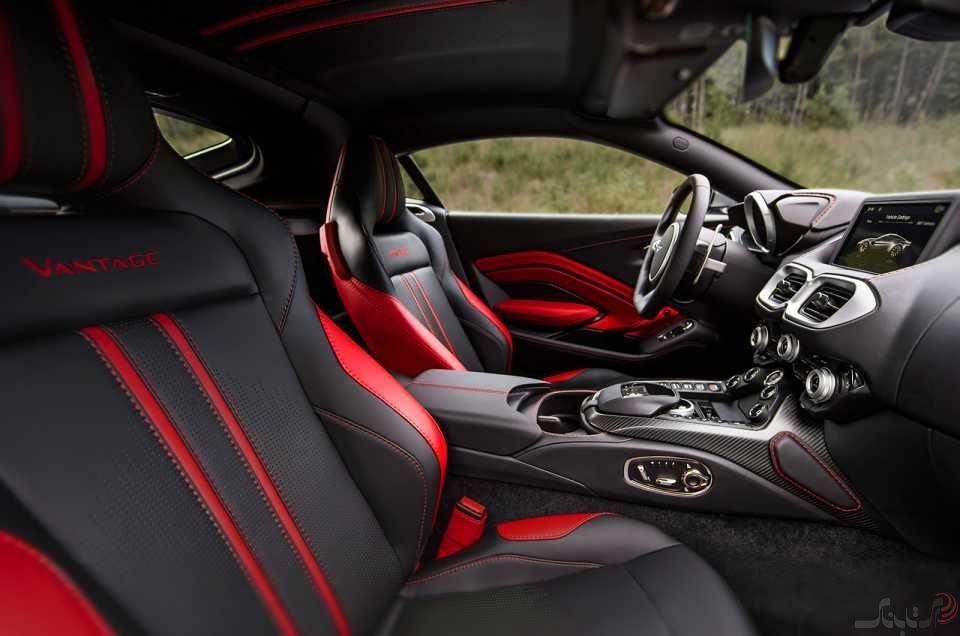 استون مارتین Vantage جدید،ترکیبی از ظاهر ابرخودرویی و قدرت AMG