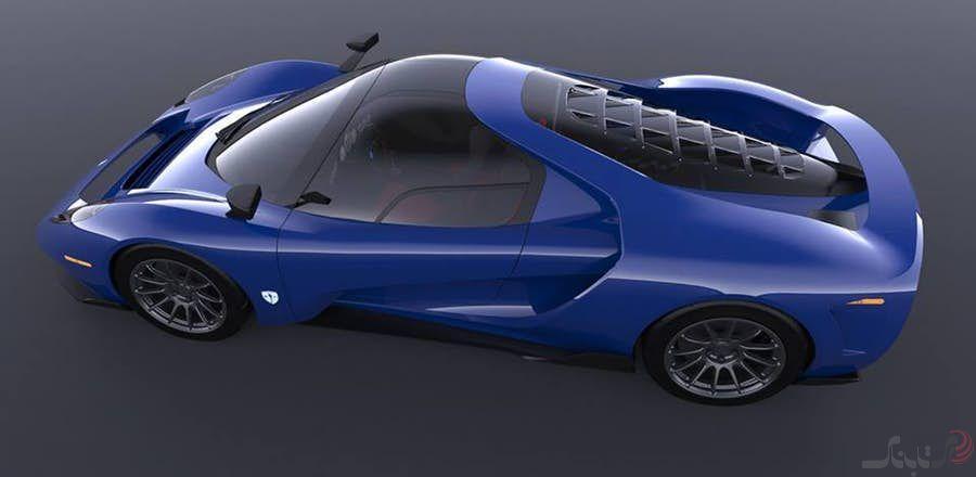طراحی شده بر پایه موفقیت های مسابقات استقامتی Scuderia Cameron Glickenhaus SCG 004S  چهار چرخی برای پرواز!